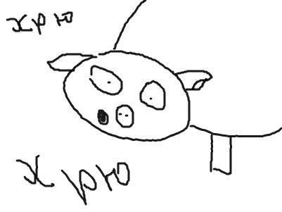 Нарисуй свинью (увлекательный тест) 16420810