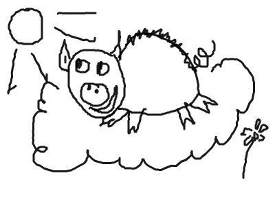 Нарисуй свинью (увлекательный тест) 16432910