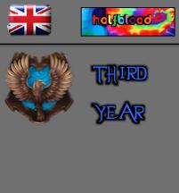 British - Halfblood - Ravenclaw Third Year