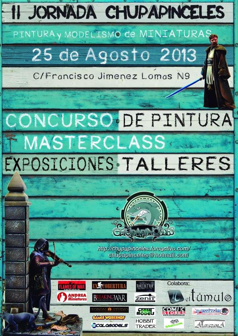 II Jornadas de Pintura de los Chupapinceles Cartel10