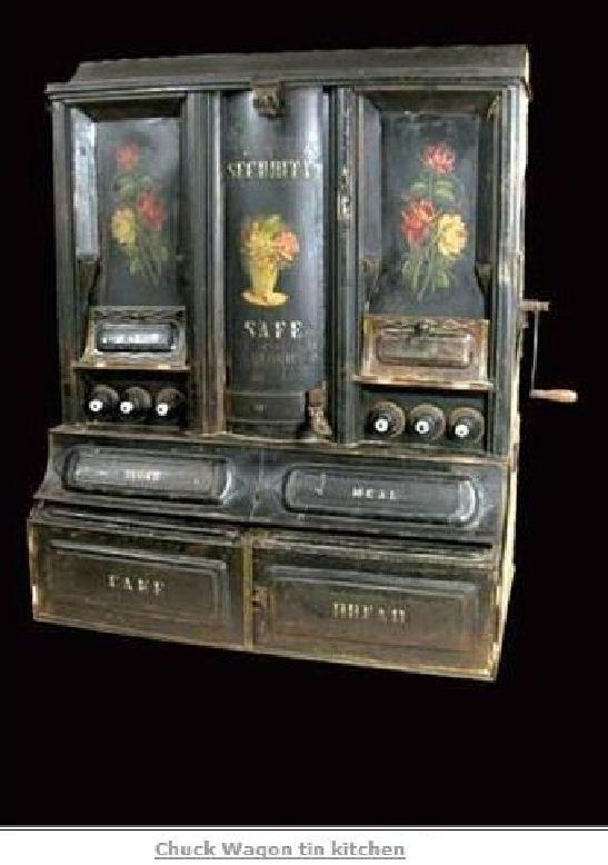 """Les """" Tin portables Pantry """" Chuckw10"""