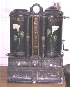 "Les "" Tin portables Pantry "" Portab10"