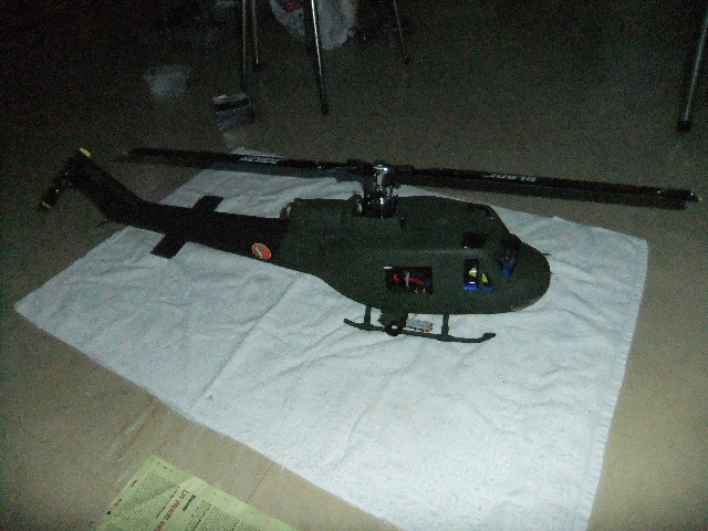 1er Blade 450X en UH-1 Dscf2320