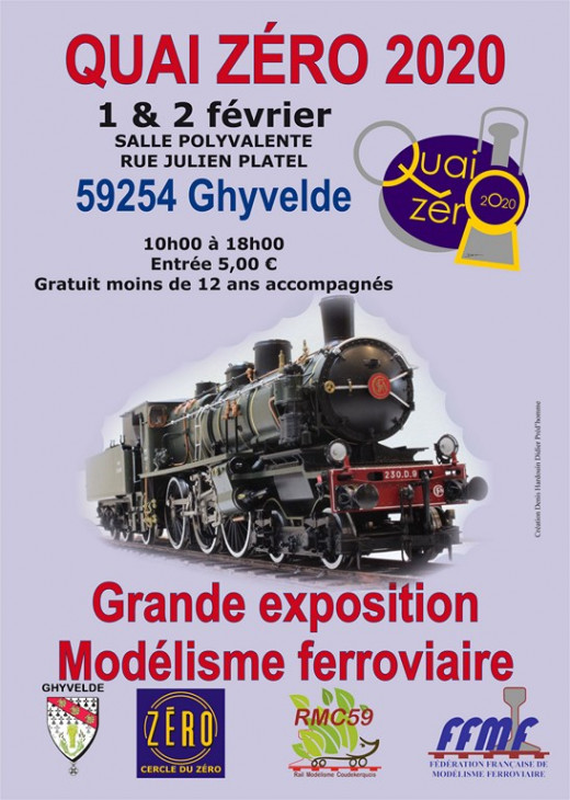 59254 Ghyvelde, Quai Zéro 1 et 2 fev 2020 Affich10