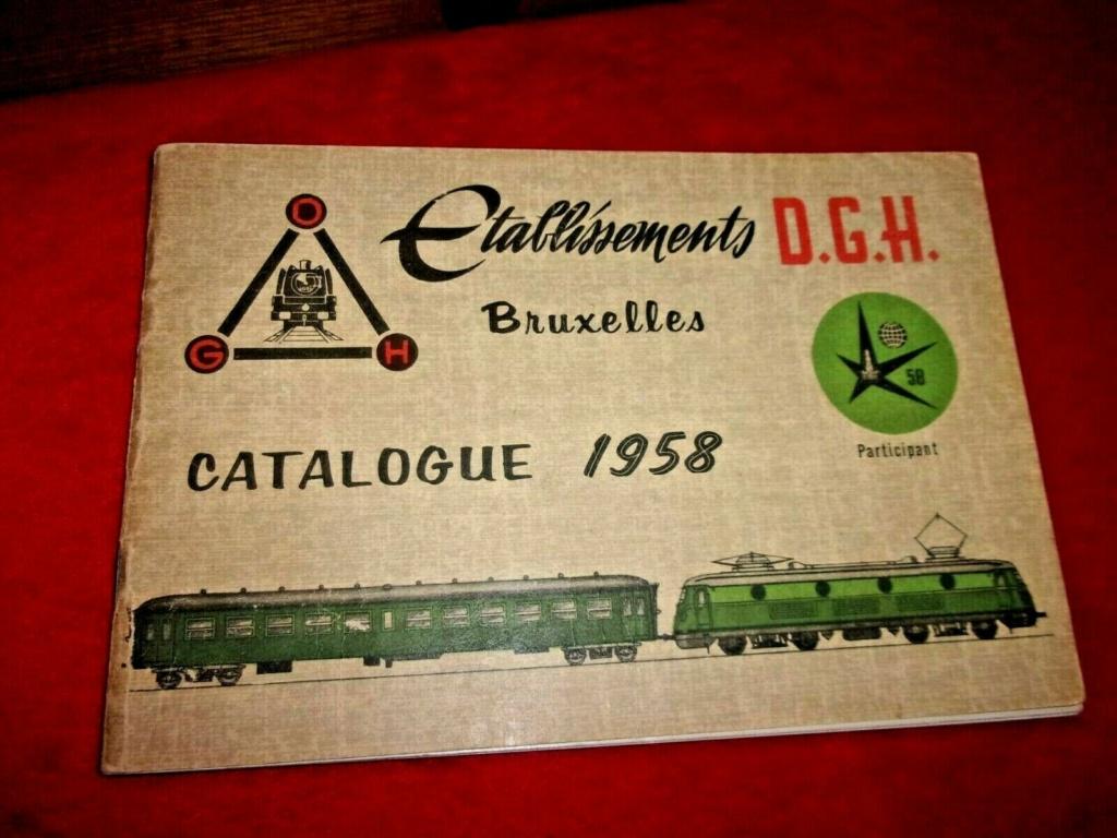 voitures SNCB DGH echelle zéro Cat_dg11