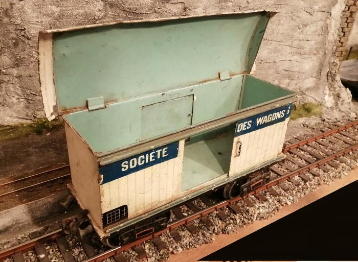 Société des wagons frigorifiques, tinplate, 1/32  Frigo_11