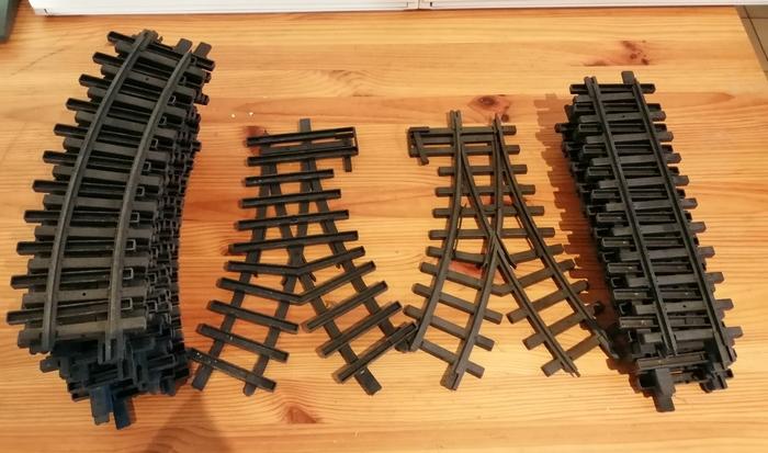 Train jouet New Bright échelle G Rails_10