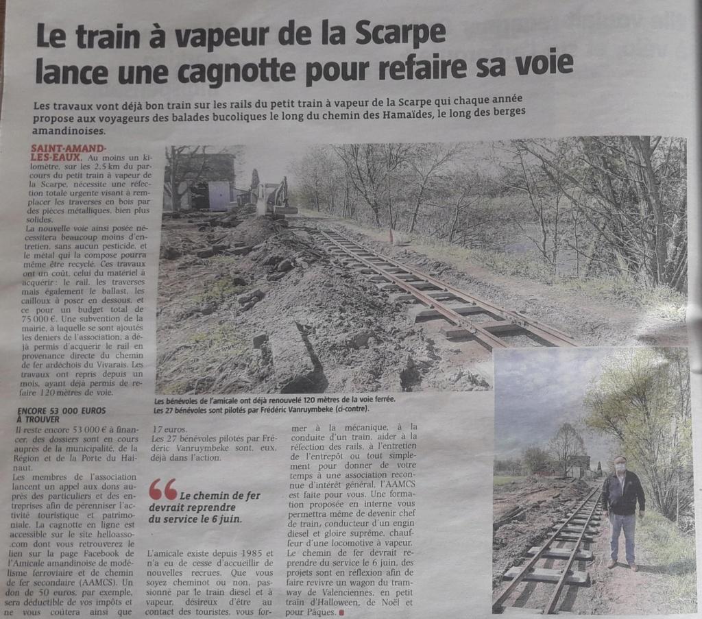 Saint Amand les Eaux, le petit train de la Scarpe  - Page 2 Voix_d10