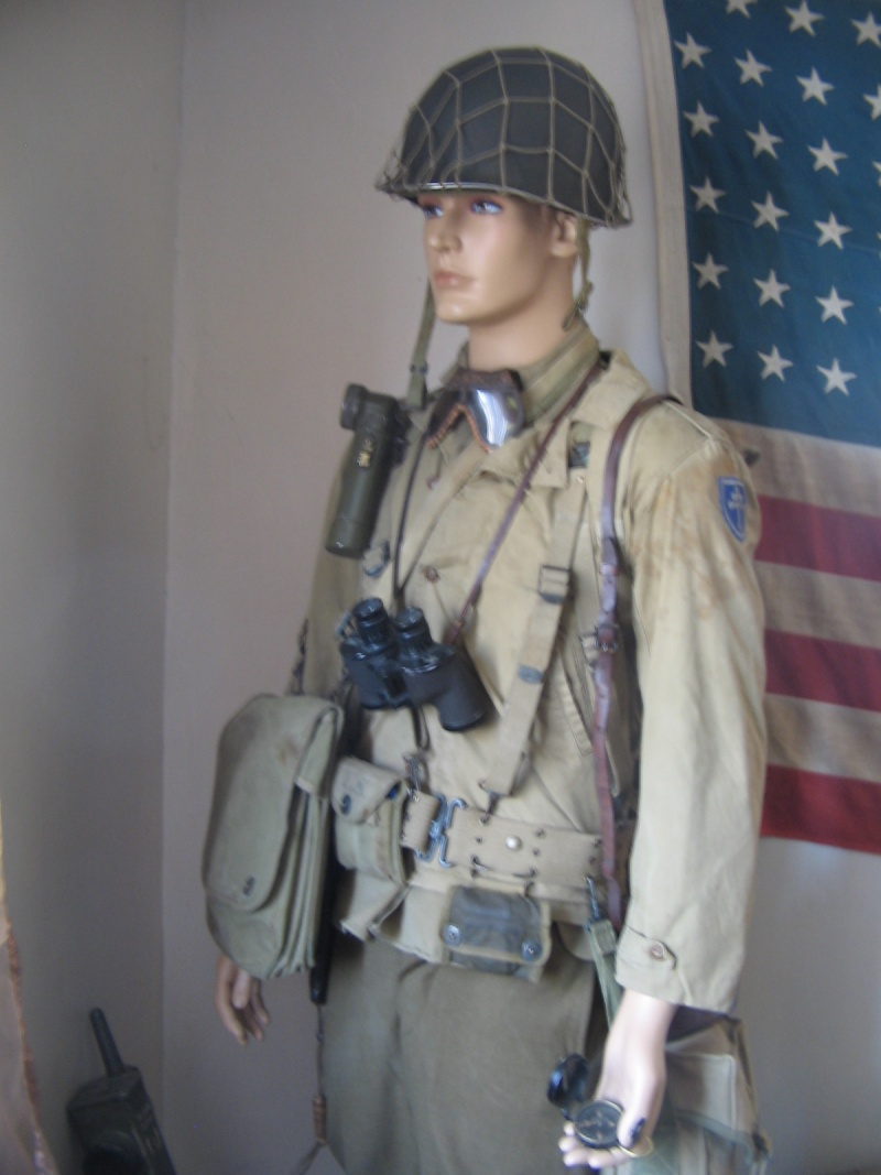 Mannequin  Officier US  secteur Cherbourg  79th  Img_3919