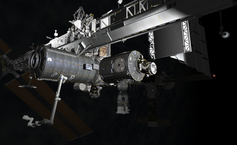 SPACE - International Space Station by thorton Screen10