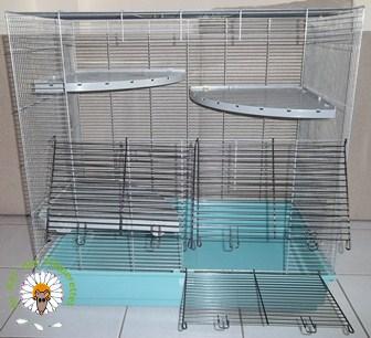 Bricolage d'une grande cage : associer Jenny+ Chichi2, ajout de portes Bricol19