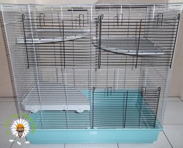 Bricolage d'une grande cage : associer Jenny+ Chichi2, ajout de portes Bricol20