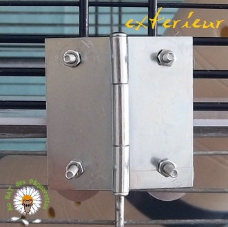 Bricolage d'une grande cage : associer Jenny+ Chichi2, ajout de portes Bricol22