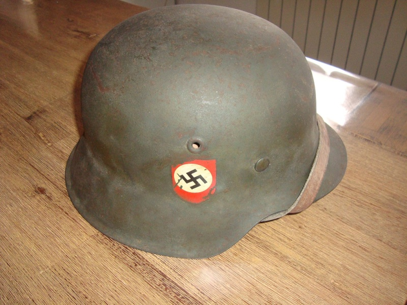 casque allemand Reichbahn Polizei Mod_4210