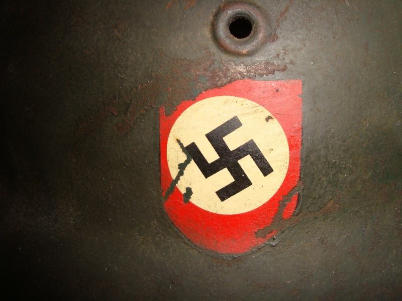 casque allemand Reichbahn Polizei Mod_4214