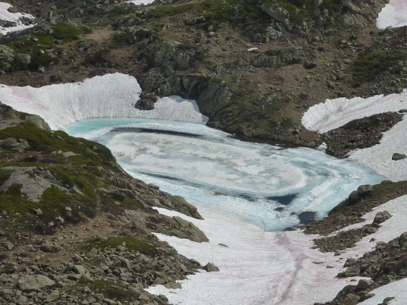 Enneigement autour du Lac Blanc le 8 Juillet 2013. Chaser12