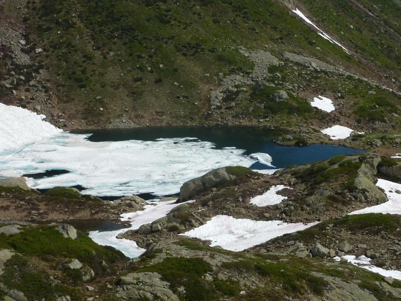 Enneigement autour du Lac Blanc le 8 Juillet 2013. Chaser13