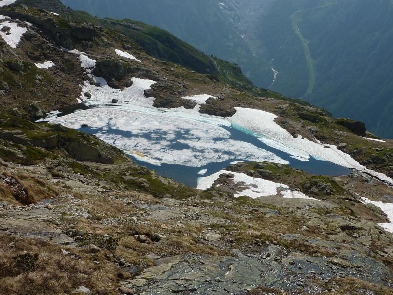 Enneigement autour du Lac Blanc le 8 Juillet 2013. Chaser14