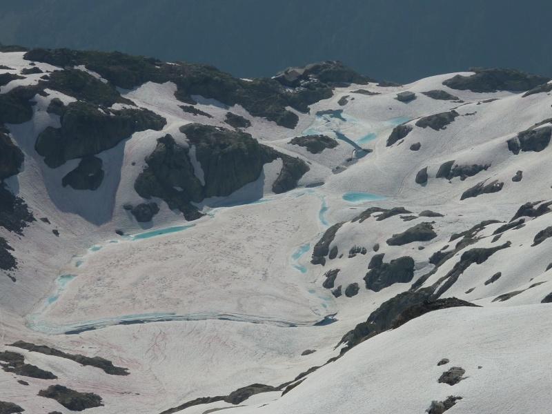 Enneigement autour du Lac Blanc le 8 Juillet 2013. Lb310