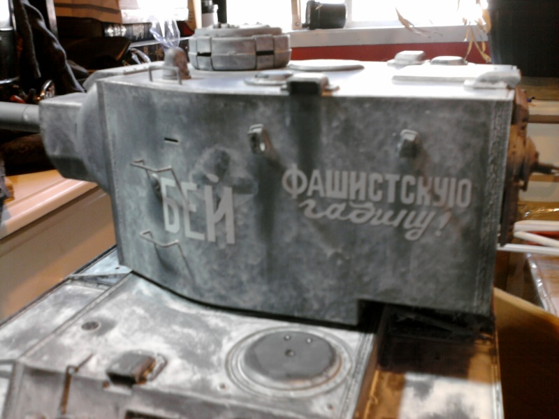 Strato's KV-2 Build - Page 2 Photo138