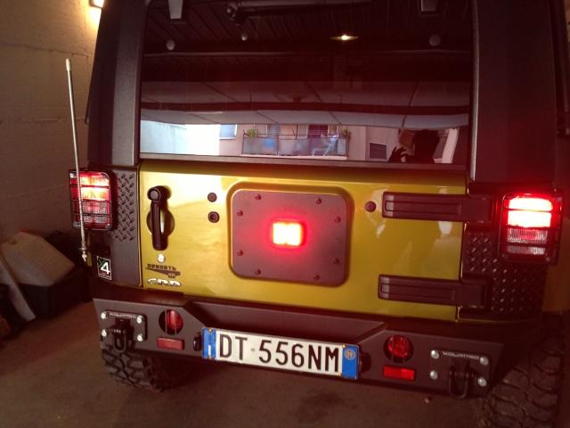 Piastra + 3° stop per Wrangler Jk  00810