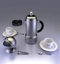 Tasses a cafe 3D Cafe210