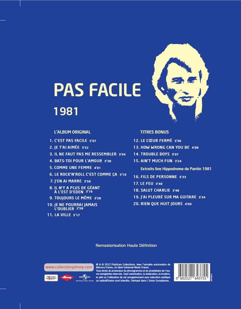 N° 41 1981 Pas facile Jhcoll20