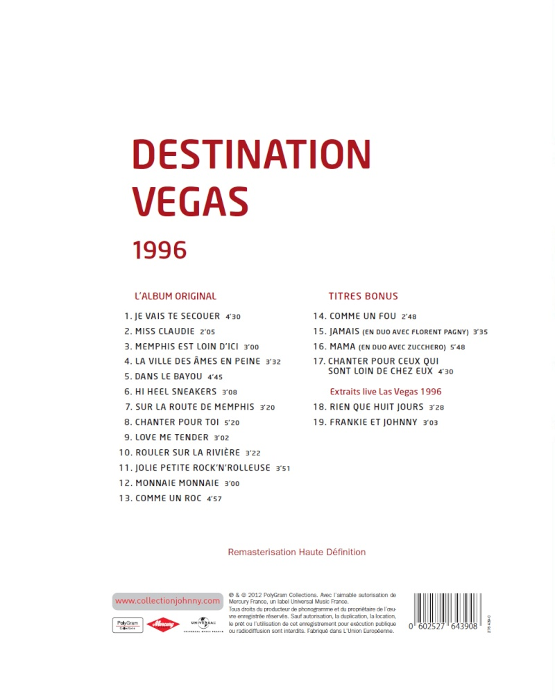 N° 43 1996 Destination Vegas Jhcoll32