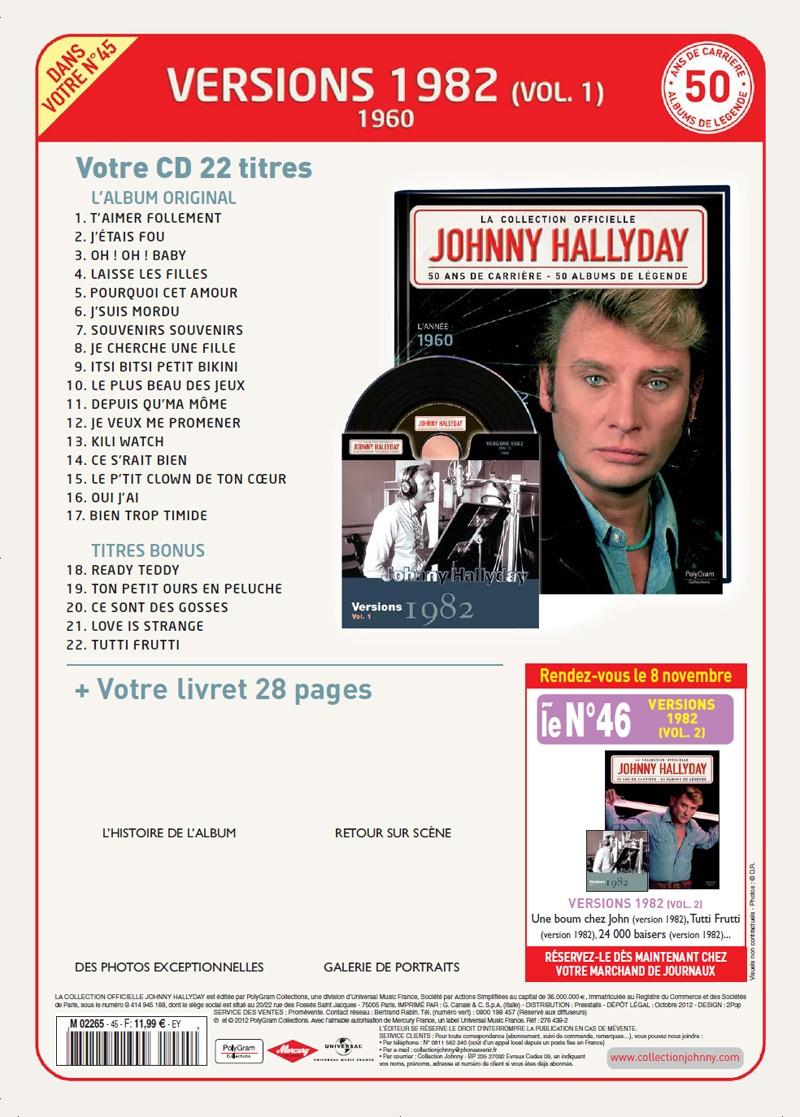 N° 45 1960 Versions 1982 Vol 1 Jhcoll42