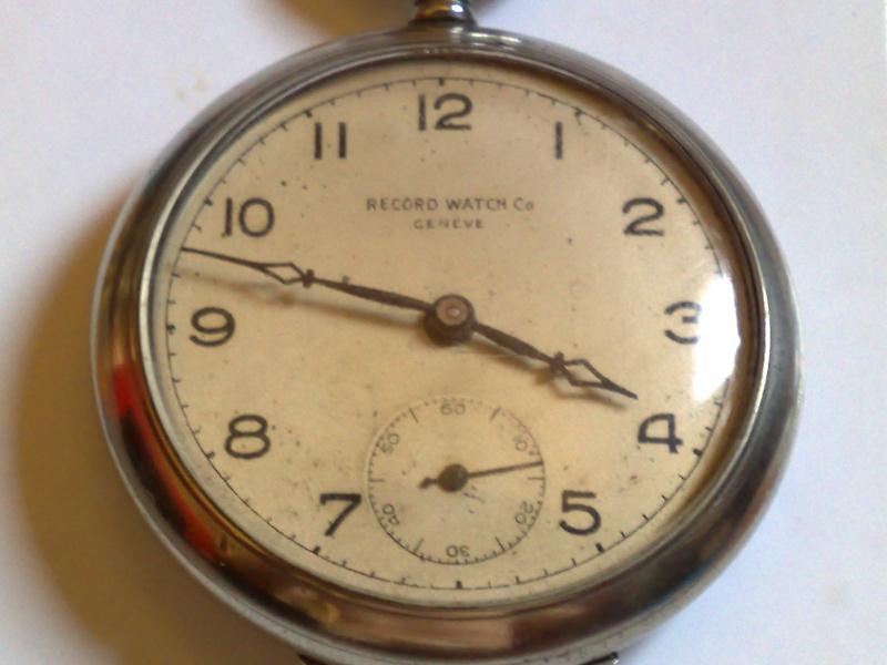 montre gousset record watch 15072010