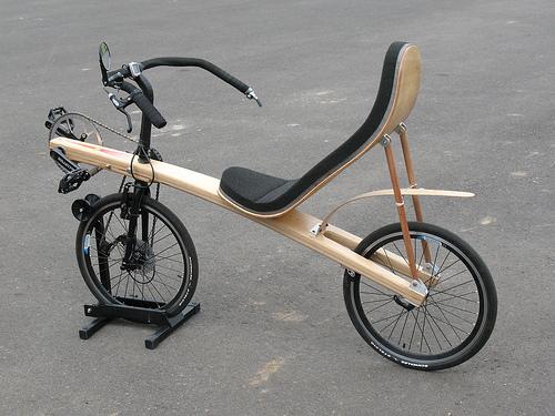 construction deux roues couché en bois Wooden10