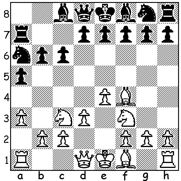 A Clash of Kings! A Chess Board. Mmfrpg15