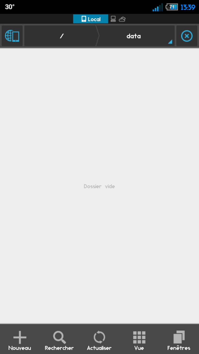 """[RESOLU] Dossier """"0"""" cacher sur explorateur de fichier mais visible en recovery (+ de 15 Go) 2013-011"""