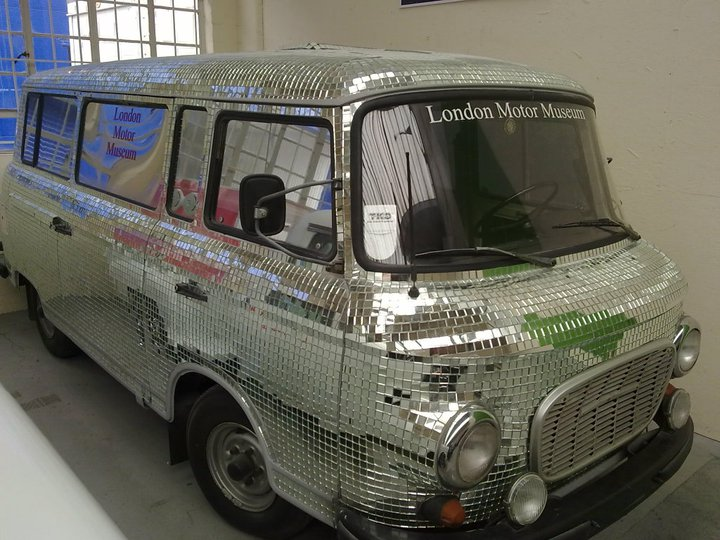sparkly, shiney party van! Sparkl10