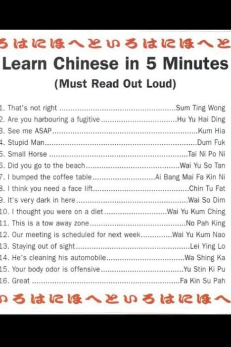 A Quick Introduction To Learning Chinese Chines10