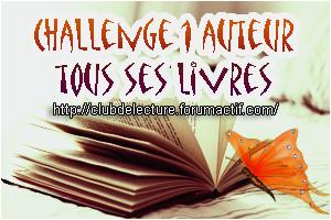 Challenge 1 AUTEUR = TOUS SES LIVRES en 2019 Auteur10