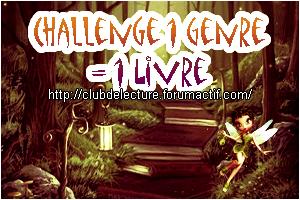 Challenge 1 GENRE = 1 LIVRE en 2015 Genre10