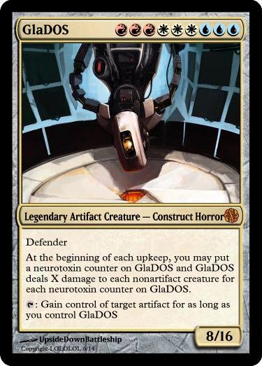 Magic: the Gathering Glados10