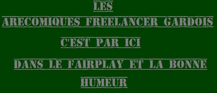 Arécomiques Freelancers airsoft