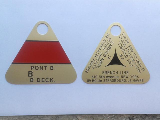 porte clefs cabines paquebot France 2012-010