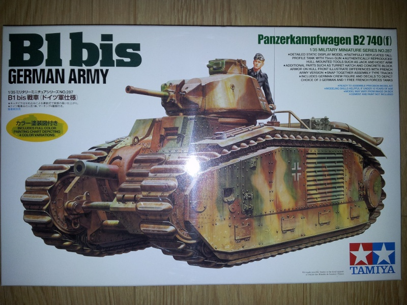À vendre V 150 Hobby boss 1/35° - ( B1 bis German Army Tamiya 1/35° Vendu.) 20130710