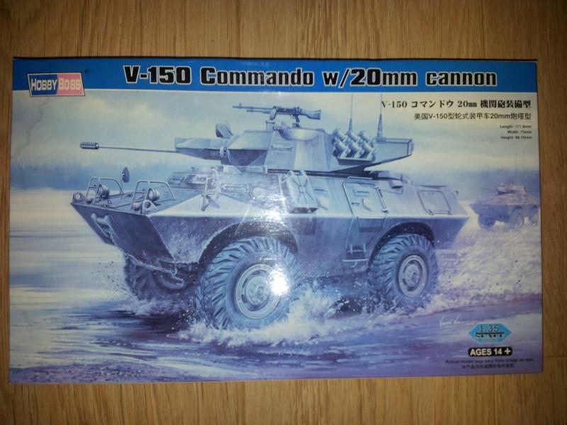 À vendre V 150 Hobby boss 1/35° - ( B1 bis German Army Tamiya 1/35° Vendu.) 20130712