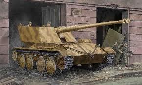 TRUMPETER 1/35 KRUPP/ARDELT WAFFENTRÄGER 88mm PaK 43 Sans-t10