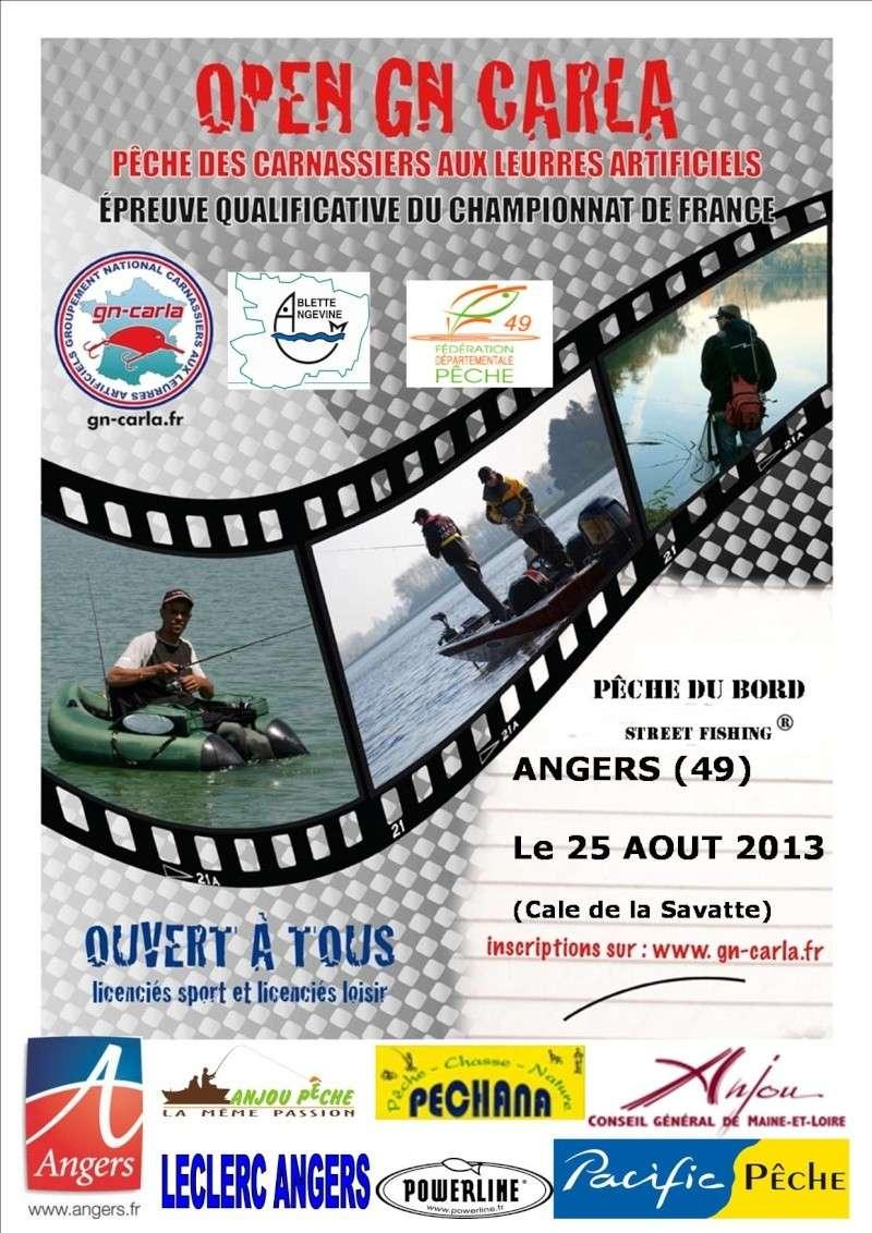 Open street fishing d'Angers - GN-CARLA - 25-08-2013 Affich10