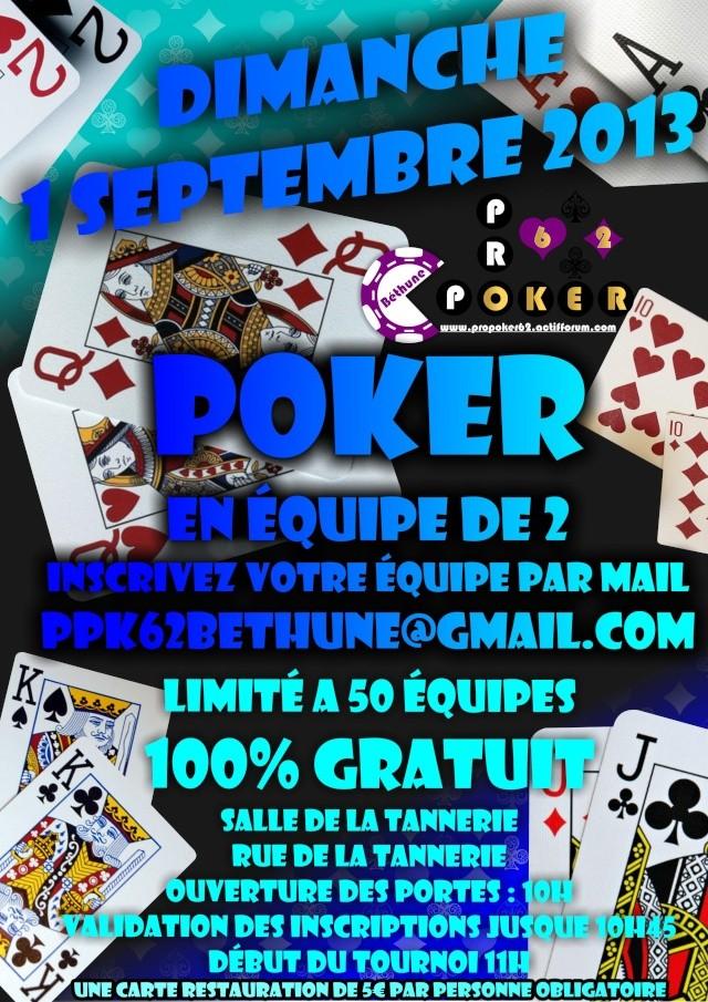 Tournoi poker en équipe de 2 - Bethune - 1er septembre 2013 Tourno10