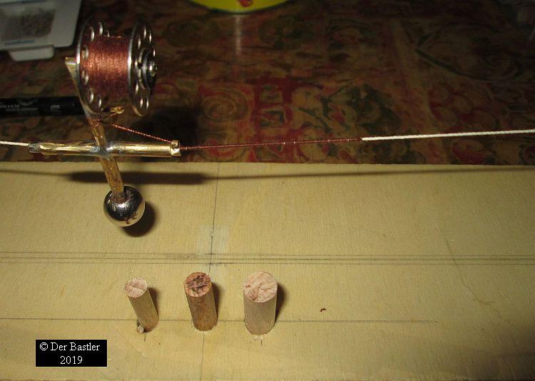 einfache Bekleidungs Maschine für Schiffstaue. Taue_k11