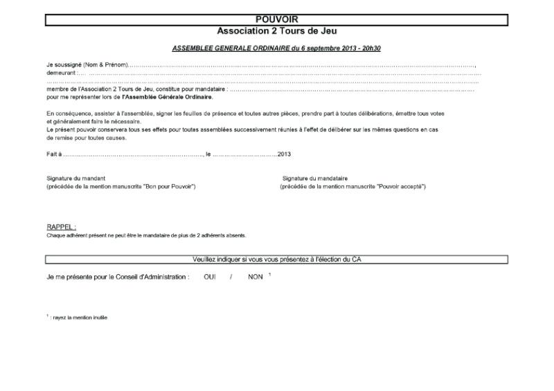 Convocation AG du 6/9/2013 Ag_20110