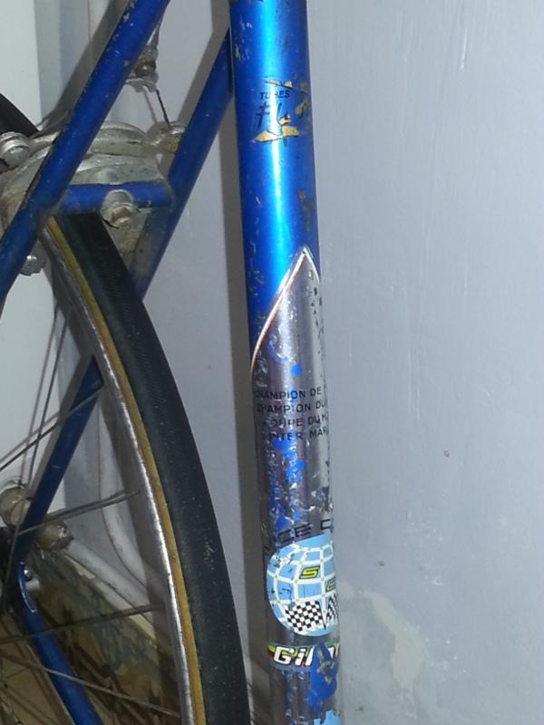"""Gitane """"Route de France"""" Cadre10"""