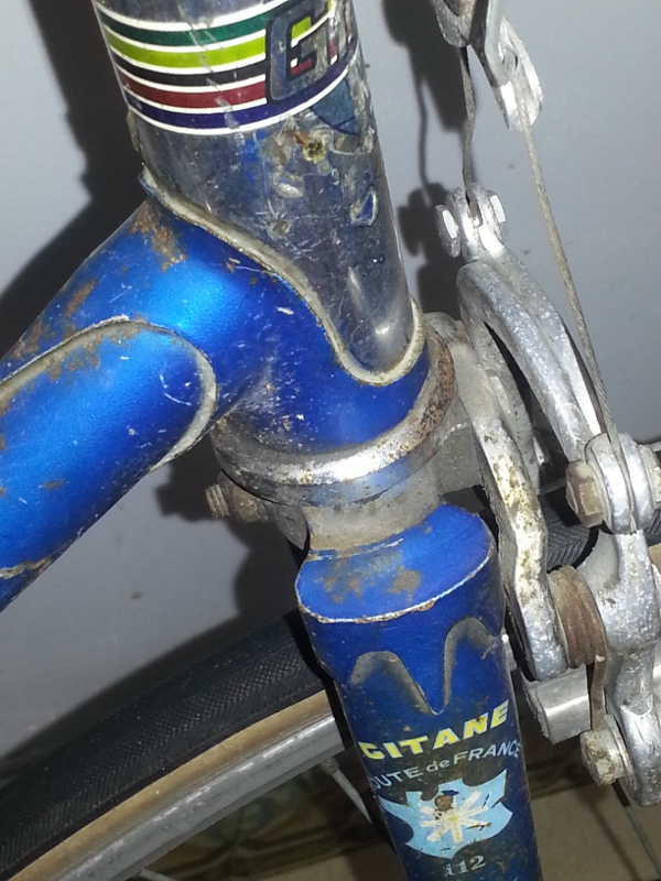 "Gitane ""Route de France"" Fourch11"