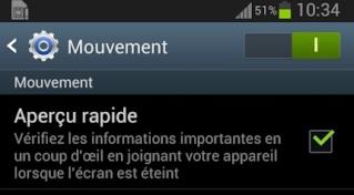 [ASTUCE] Aperçu rapide : Visualiser les notifications, écran éteint Apercu10